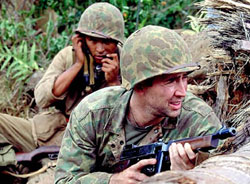 a review of the wind talkers a movie by john woo Windtalkers, a 2002 film starring nicolas cage, was based on the code  than  the actual war had, its failure ended up halting john woo's rise.